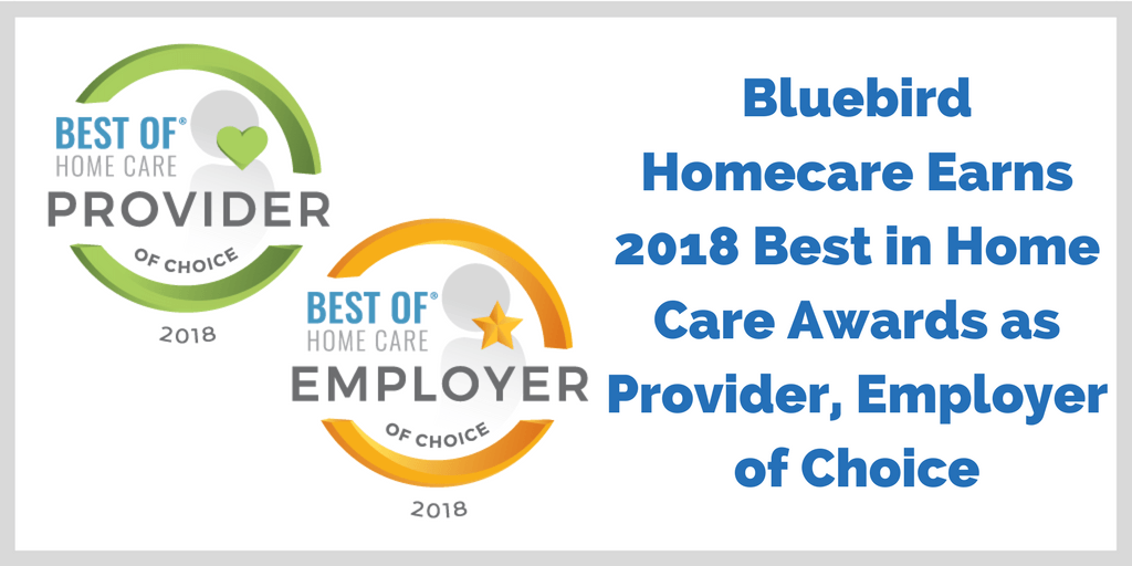 Homecare Agency near me earned 2018 Best in Homecare Provider and Employer
