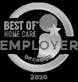 Best Homecare Agency Award for 2020 Employer