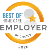 Best Homecare Agency Employer Award 2020